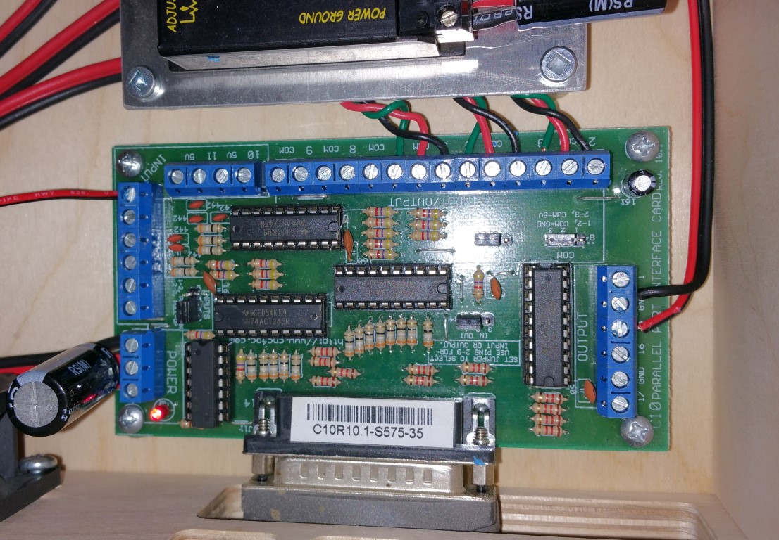 chris cockrum s cnc diy electronics shooting reloading guitar here is what the inside of my mini mill control box and the breakout board looks like now